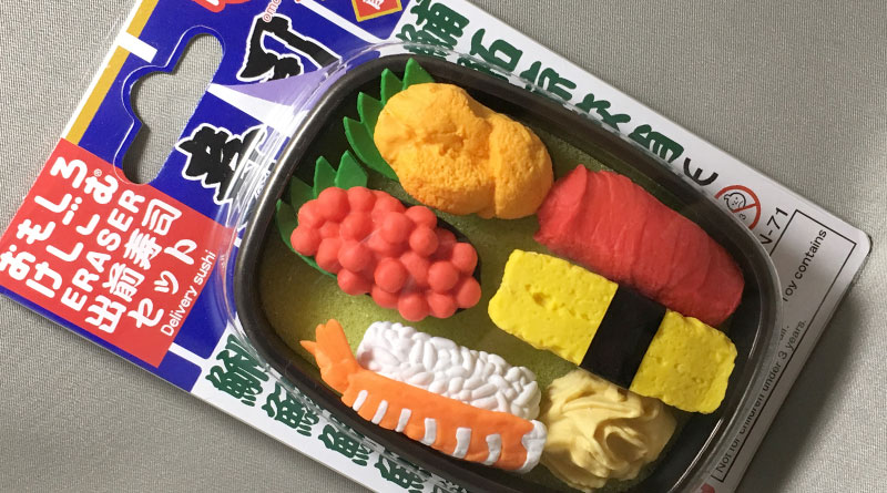 Iwako Eraser - Delivery Sushi Set - Featured image