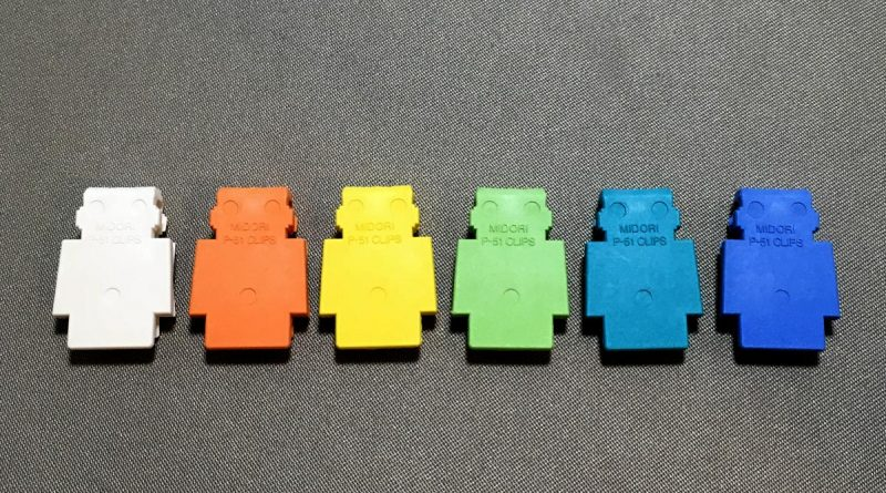 P-51 Clips - Robots - 6 colors back view