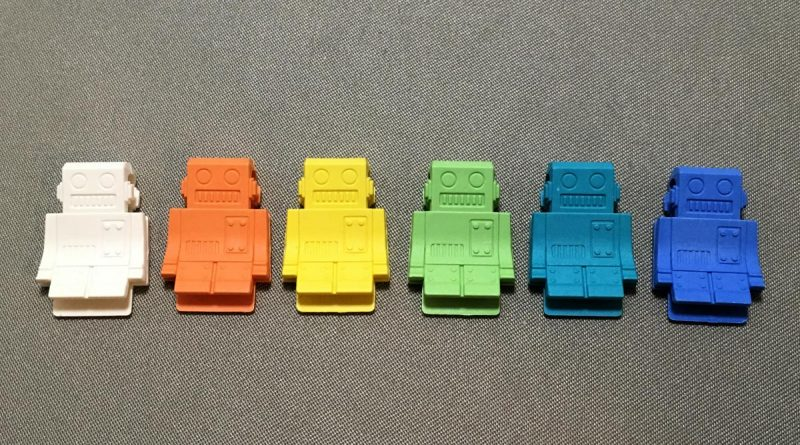 P-51 Clips - Robots - 6 colors front view