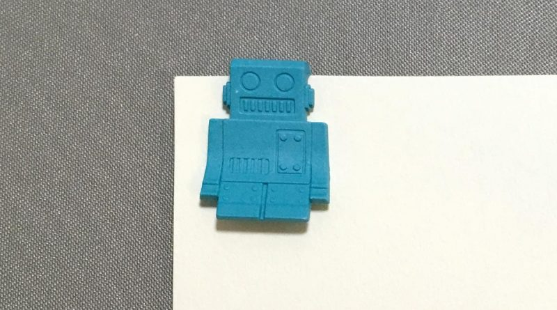 P-51 Clips - Robots - turquoise clipped