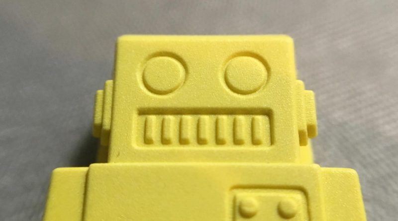 P-51 Clips - Robots - Yellow Close Up