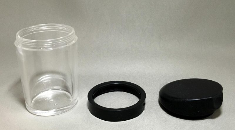 push type soy sauce dispenser - lid adapter mainbody